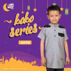 Baju Koko Anak Laki-Laki / Baju Muslim Anak / Baju koko Anak - AK 03