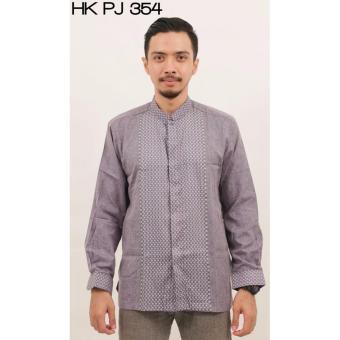 Baju Koko Ramdhan Berkualitas Tangan Panjang - HKPJ354