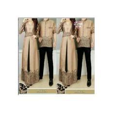 Baju Muslim Couple Sarimbit Batik Elegant
