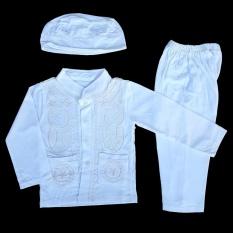 Baju Muslim Koko (6-12 Bulan) Anak Bayi Laki-Laki