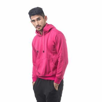 Bajukitaindonesia Jaket Hoodie Jumper Polos PINKFANTA - M-XL