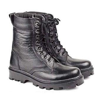 Baricco BRC 440 Sepatu Safety Boots Pria Kulit Asli Bagus ( Hitam )