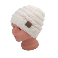 Baru rajutan topi modis rajutan topi anak anak wol dirajut topi topi .