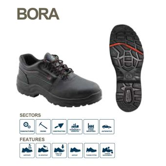 Bata Industrial BORA Safety Shoes - Hitam