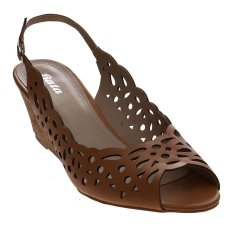 Bata Tamad Wedge Sandals - Cokelat