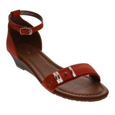 Bata Ulka Heeled Sandals - Oranye