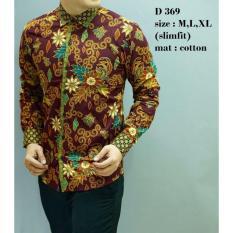 Batik Slimfit Pria D 369 Multicolor