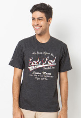 BCD Cantwo T Shirt Eagle Land - Charcoal