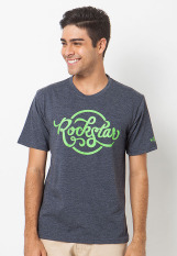 BCD Cantwo T Shirt Rock Star - Charcoal
