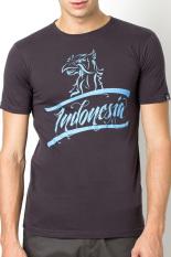 Be Proud Of Indonesia - Garuda Indonesia Male Tees - Abu-Abu Tua