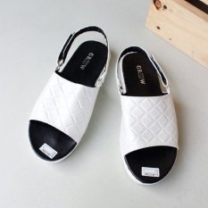 Beauty Shoes Flat Shoes Platform - Putih