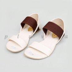 Beauty Shoes Sendal Poppy Strech - Cream