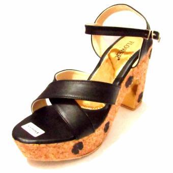 Binev Sepatu High Heels Wanita 03 - BLACK