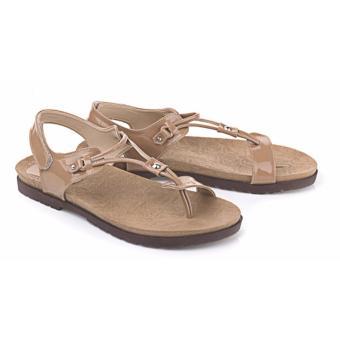 Blackkelly sandal wanita 81-coklat