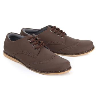 Blackkelly Sepatu Casual Pria LCP 410 - Dark Brown