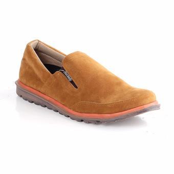 Blackkelly Sepatu Slip On Pria / Sepatu Casual / Sepatu Trendy LIVx605 Tan