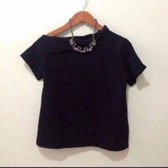 BLOUSE MERRY TOP BLACK