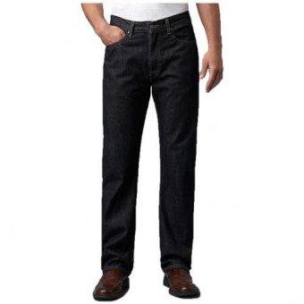 Blue Jeans Celana Jeans Regular Fit BlackGarment model BJ505 - Hitam