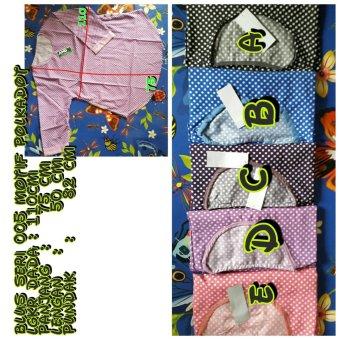 blus seri 005 motif polkadot   baju cewek   pakaian  atasan