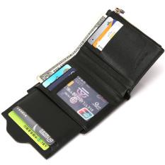 Bogesi 2016 Fashion pria tas dompet lipat uang kartu ID penerimaan dudukan warna kopi
