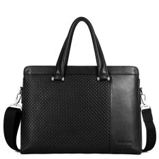 Bostanten Men's Genuine Cowhide Leather Classic Handbag Business Bag - Intl