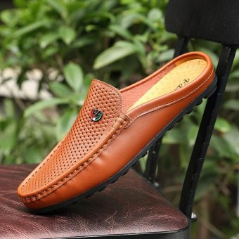 Breathable Lazy Shoes, Men's Casual Shoes, Moccasin-gommino, Driving Shoes, Soft and Comfortable - intl