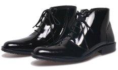 BSM Soga BFH 149 Sepatu Formal Boots / Kerja Pria Kulit Asli - Elegan - Hitam