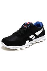 BYYZ02 Men's Running Leisure Shoes (Black)