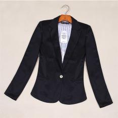 C075 Spring / Autumn Hot Women's Black Clothes Cindy Color Suit Blazers Small Suit Jacket - Intl
