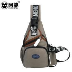 Can A Man Chest Bag Bag Men's Leisure Korean Tide Pockets Satchel Outdoor Sports Chest Small Bag - Intl