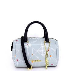 Carlo Rino 0303701-003-38 Top-Handle satchel (Blue)