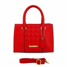 Carlo Rino Red Satchels
