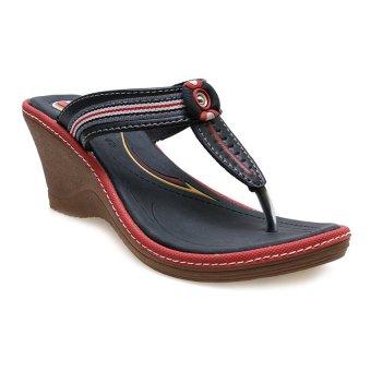 Carvil Cloth-03L Casual Sandal Wanita - Hitam