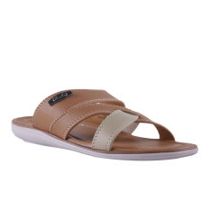 Carvil Coross-713M Men's Casual Sandal - Stone