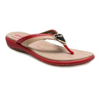 Carvil Hasten-01L Casual Sandal Wanita - Merah