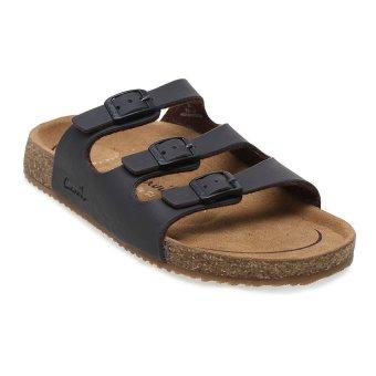 Carvil Khanza - 03L Footbed Sandal Wanita - Dark Brown