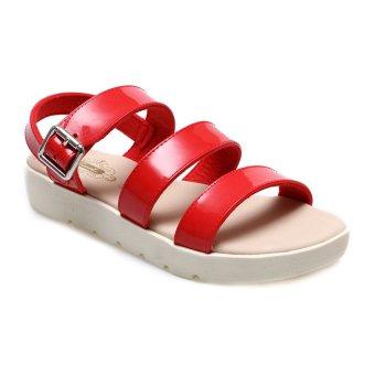 Carvil Proper-01L Casual Sandal Wanita - Merah