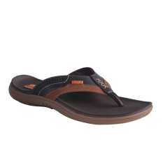 Carvil Viscara-181M Men's Casual Sandal - Dark Brown