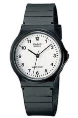 Casio Analog Watch Jam Tangan Unisex - Hitam - Strap Karet - MQ24-7BLDF