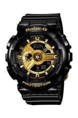 Casio Baby-G Women's Black Resin Strap Watch BA-110-1A (Int: One Size)
