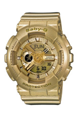 Casio Baby-G Women's Gold Resin Strap Watch BA-111-9A