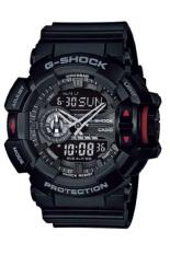 Casio G-Shock Watch Jam Tangan Pria - Hitam - Strap Karet - GA-400-1BDR