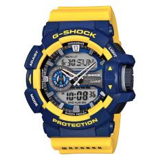 Casio G-Shock Watch Jam Tangan Pria - Kuning - Strap Karet - GA-400-9BDR