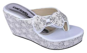 Catenzo Sepatu Wedges Figlia Snow C318 8cm
