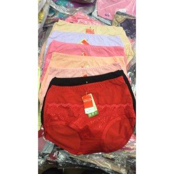 Harga Celana Dalam Wanita Sorex Renda Simple Katun Organic 57553 (6 ... c115db01fe