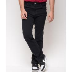 Celana jeans panjang ( Hitam )