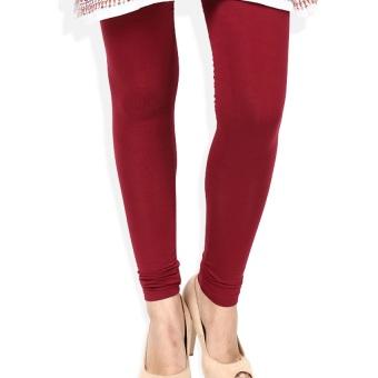 Celana Wanita Legging Polos Merah - Ukuran Standar dan Jumbo