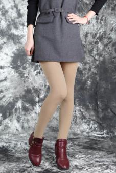 Cityhome tebal musim dingin yang hangat wanita langsing peregangan kaki (warna kulit) - International