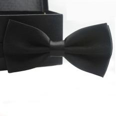 Classic Fashion Novelty Mens Adjustable Tuxedo Wedding Bow Tie Necktie Black