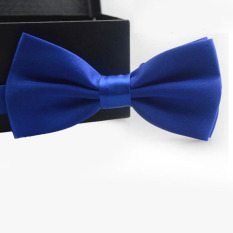 Classic Fashion Novelty Mens Adjustable Tuxedo Wedding Bow Tie Necktie Navy Blue